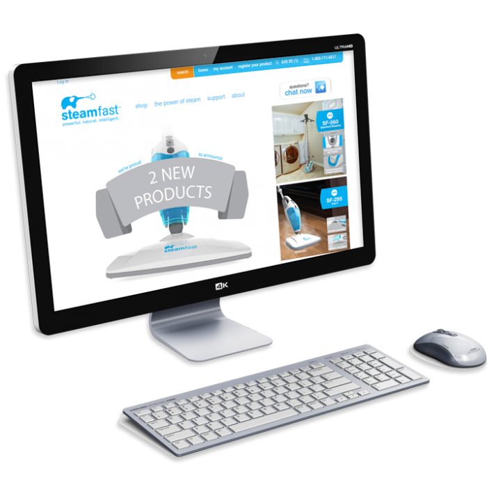 Steamfast eCommerce Website